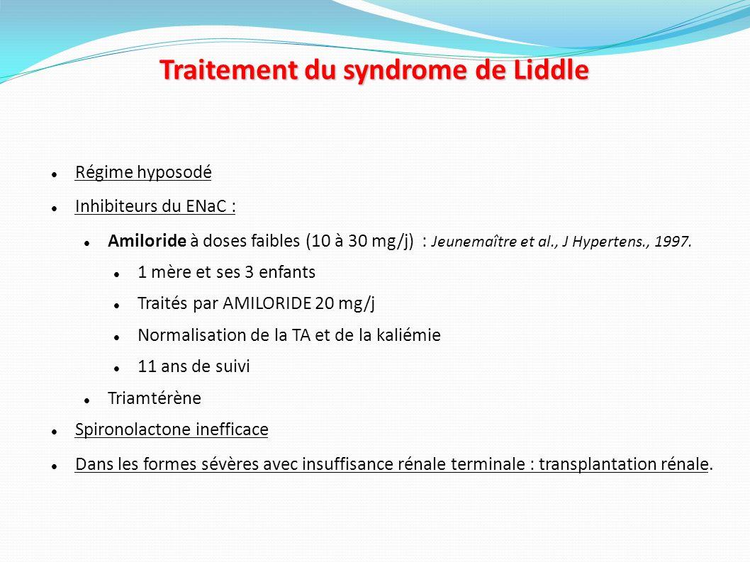 Résumé Profil clinique : HTA sévère, résistante, précoce.