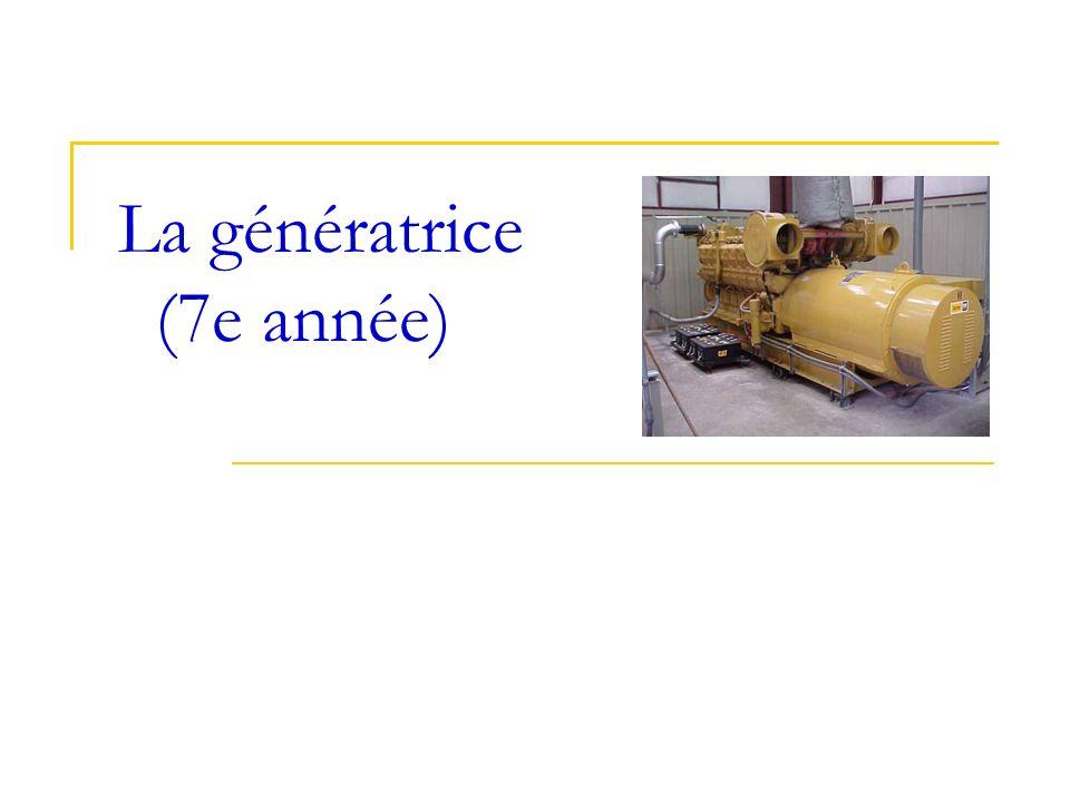La génératrice (7e année)