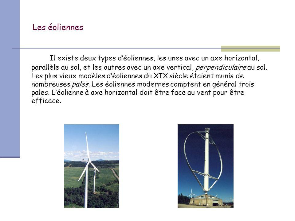 Les éoliennes Léolienne à axe vertical a été inventée en 1925 par lingénieur français George Darrieus.