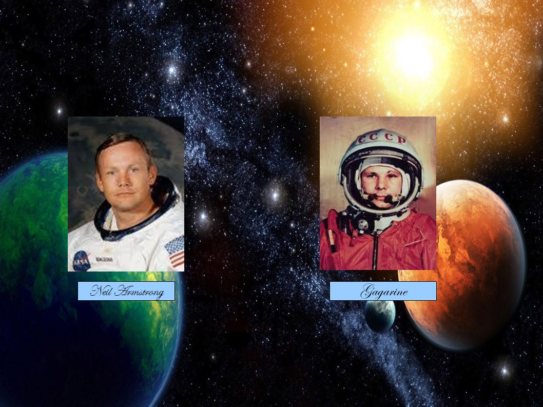 Neil Armstrong Gagarine