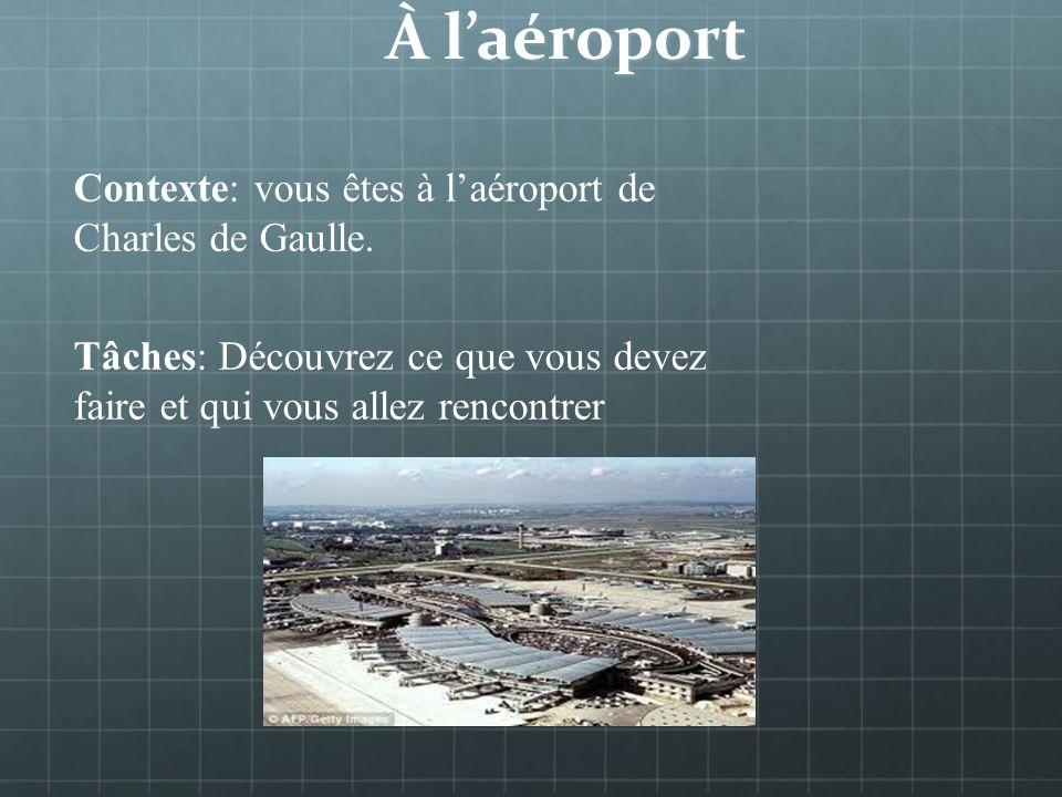 French 3H Unité 2 En voyage: à laéroport – à la gare