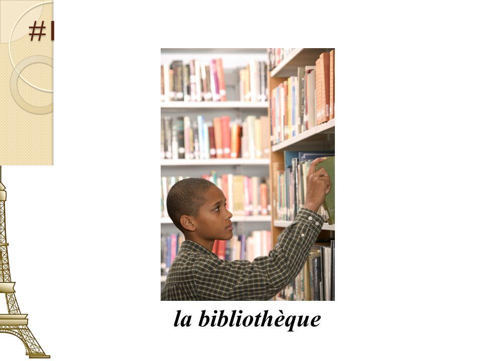 #1 la bibliothèque