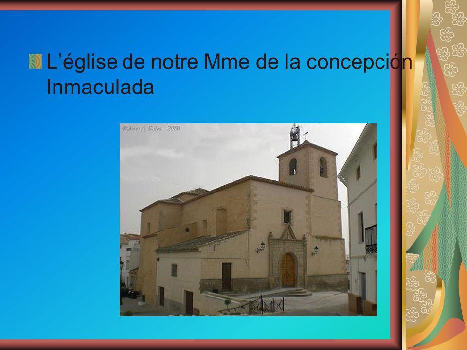 Léglise de notre Mme de la concepción Inmaculada
