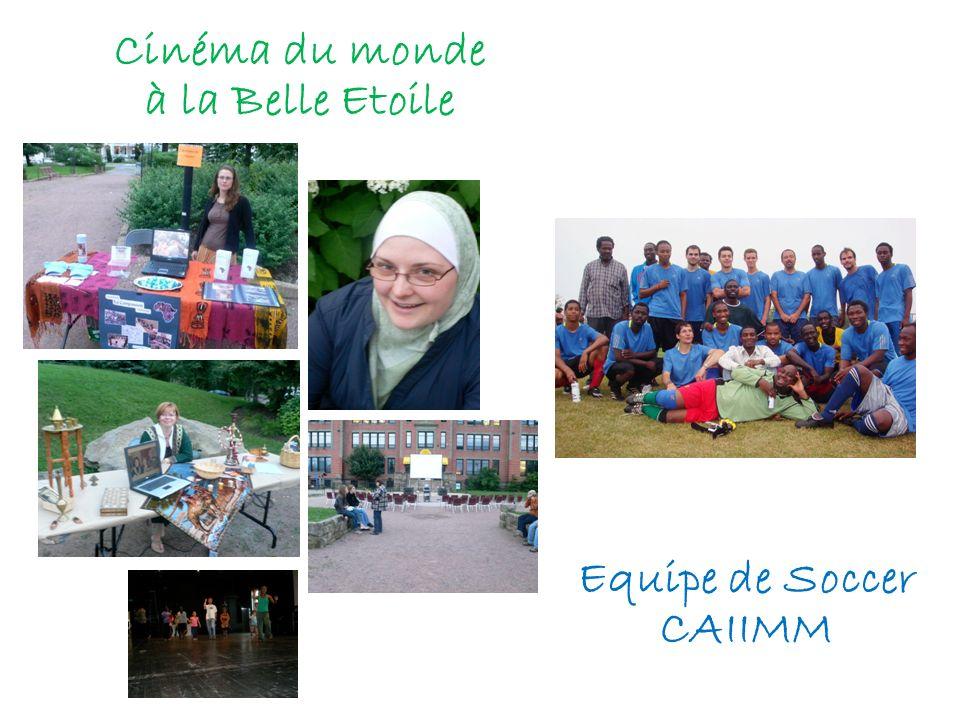 Cinéma du monde à la Belle Etoile Equipe de Soccer CAIIMM