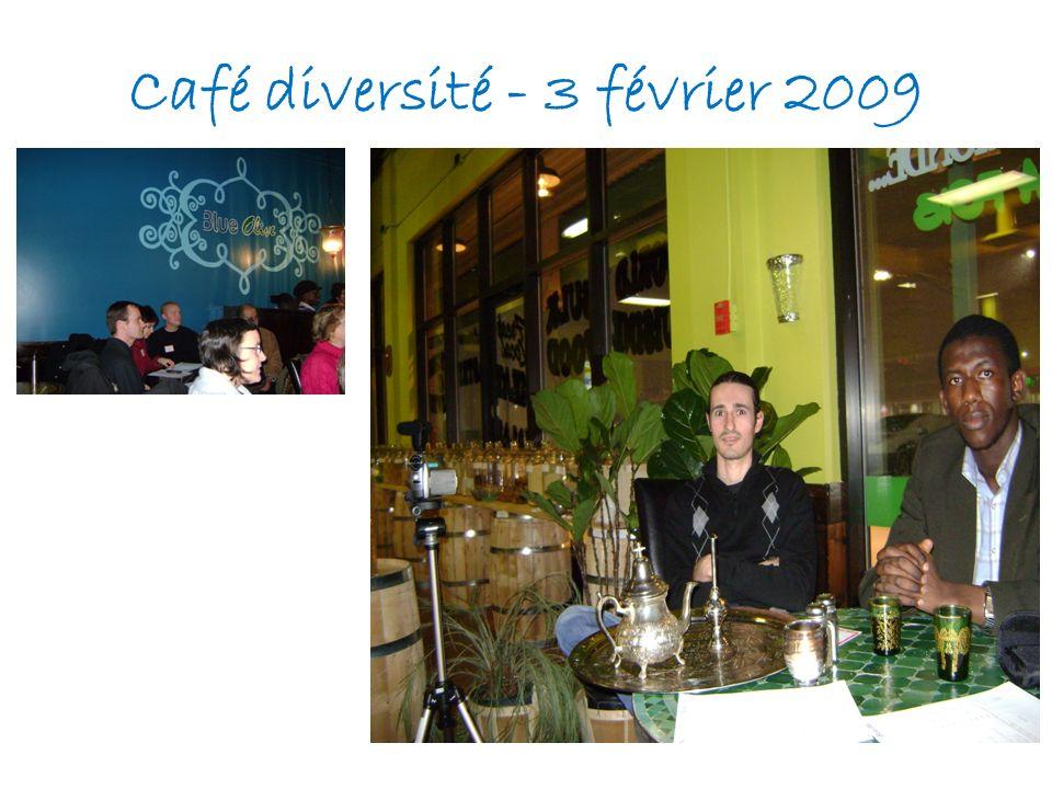 Café diversité - 3 février 2009