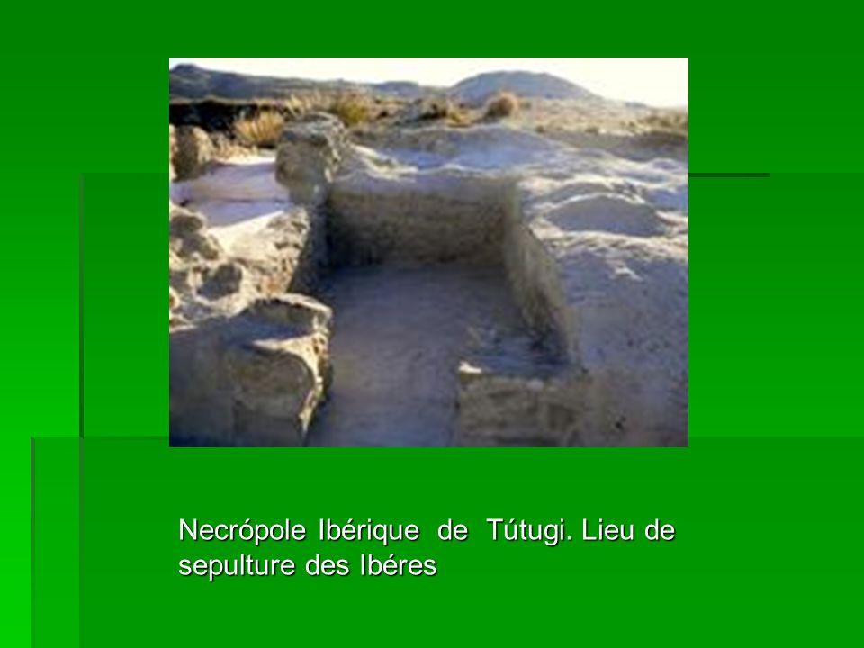 Necrópole Ibérique de Tútugi. Lieu de sepulture des Ibéres