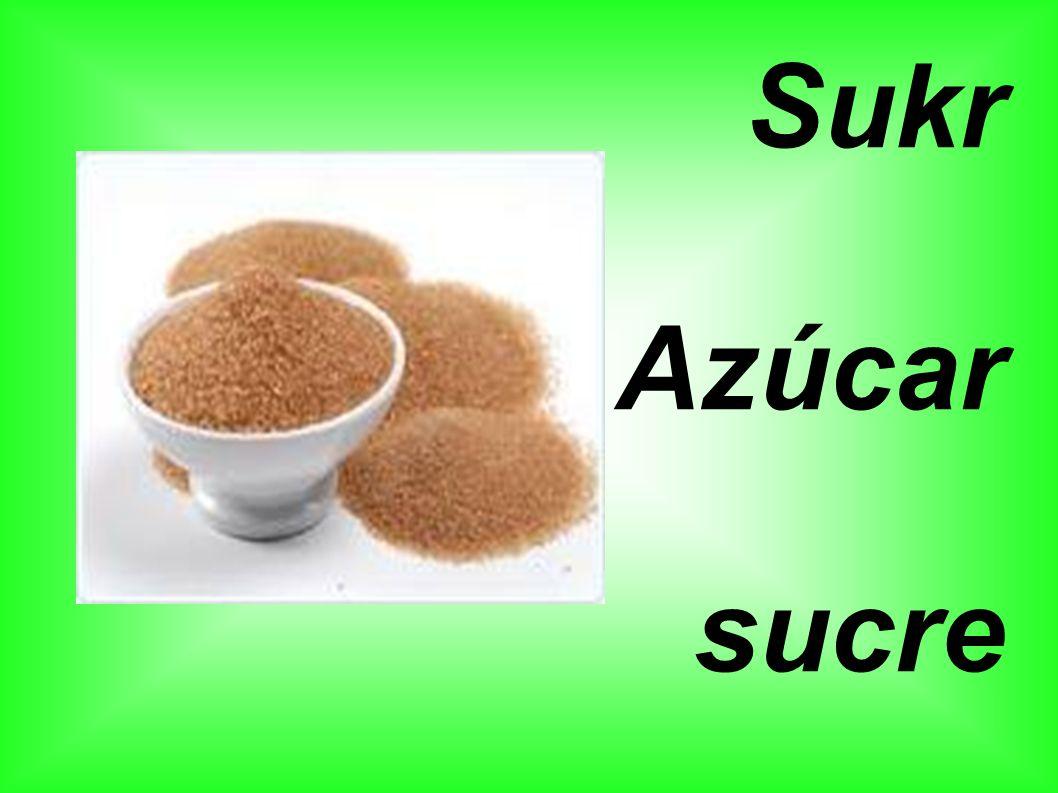 Sukr Azúcar sucre