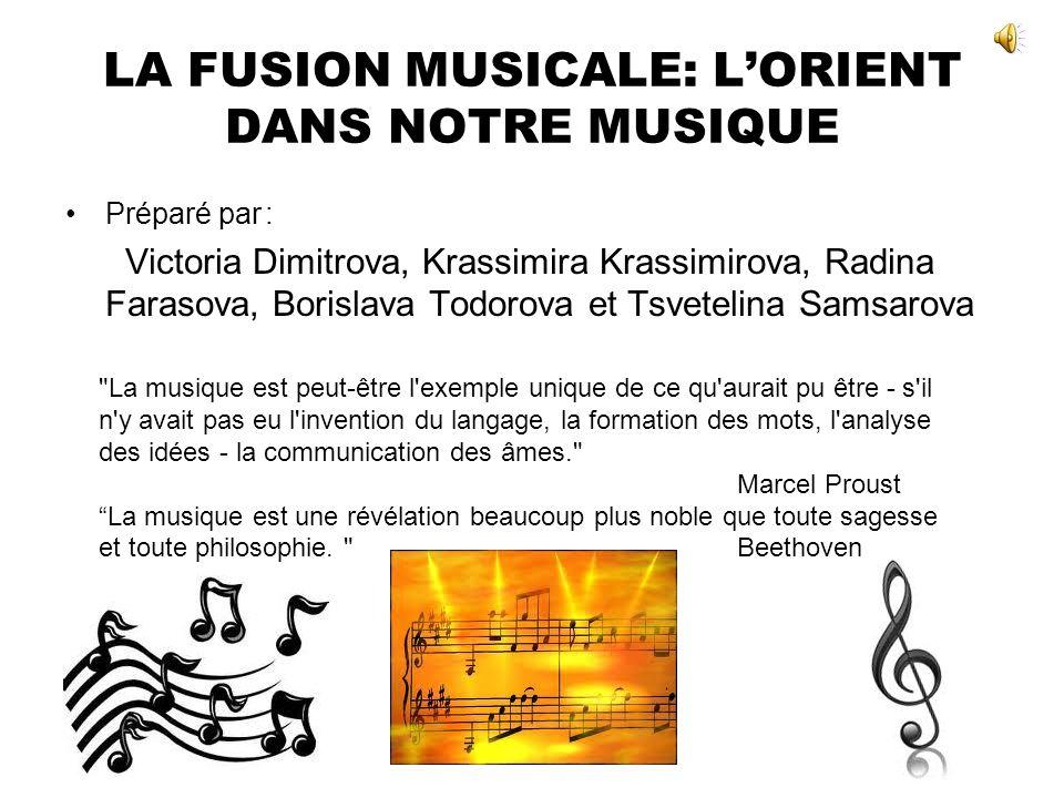 LA FUSION MUSICALE: LORIENT DANS NOTRE MUSIQUE