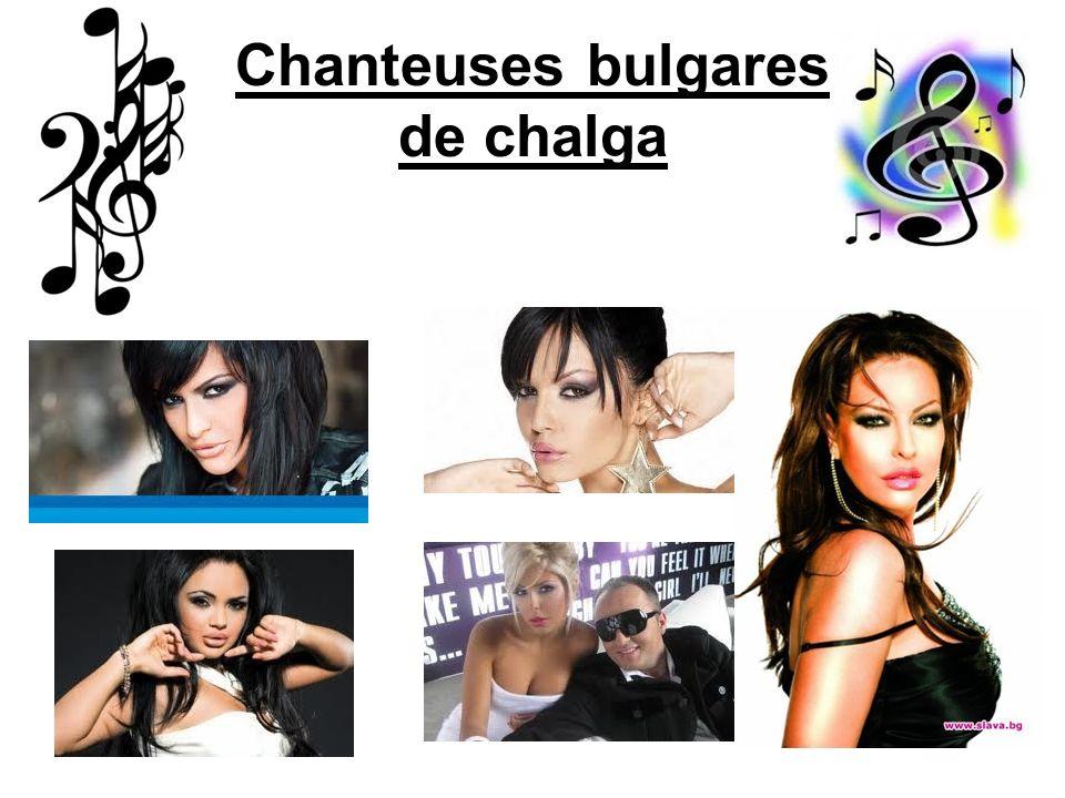 Chanteuses bulgares de chalga