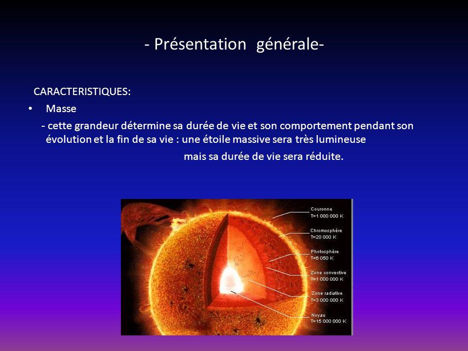 Structure dune étoile En létat actuel de nos connaissances, une étoile est structurée en différentes régions concentriques, décrites ci-après à partir du centre.