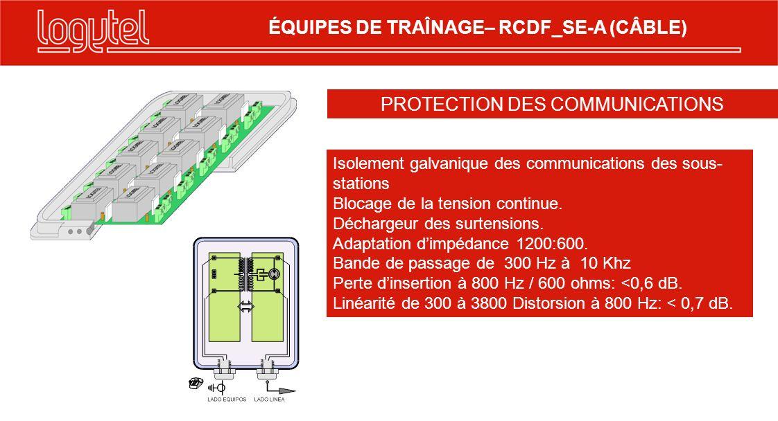 · Présentation en sous-châssis Rack de 19, avec une source dalimentation commune.