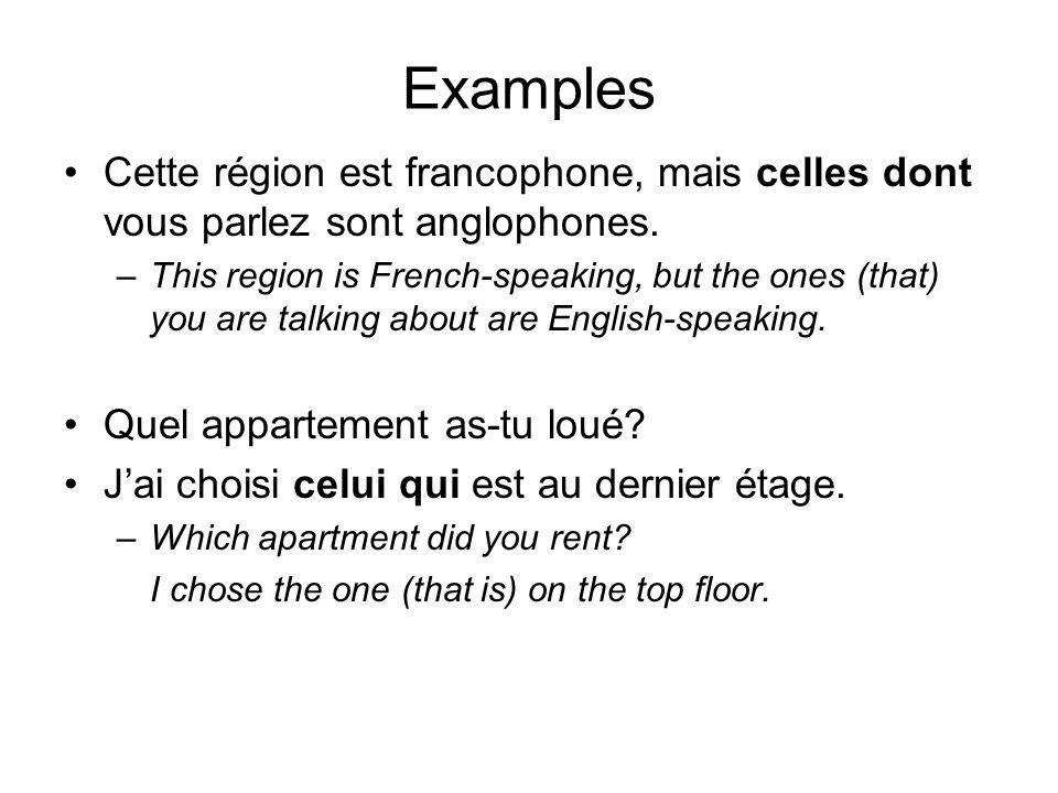 Examples Les hôtels de trois étoiles sont ceux que les agents de voyage recommandent.