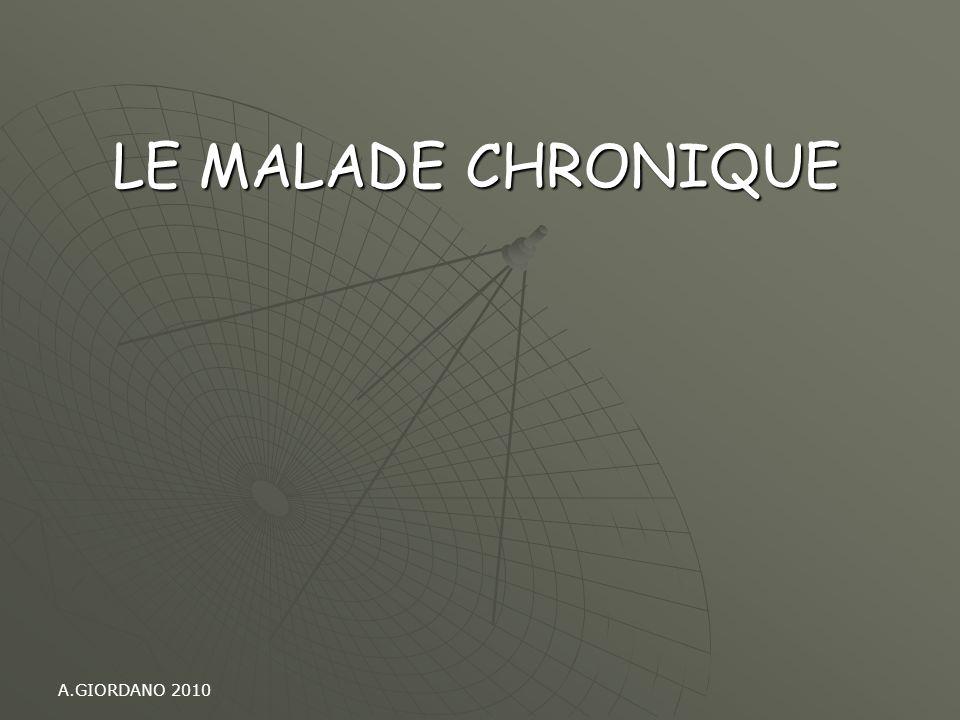 A.GIORDANO 2010 LE MALADE CHRONIQUE