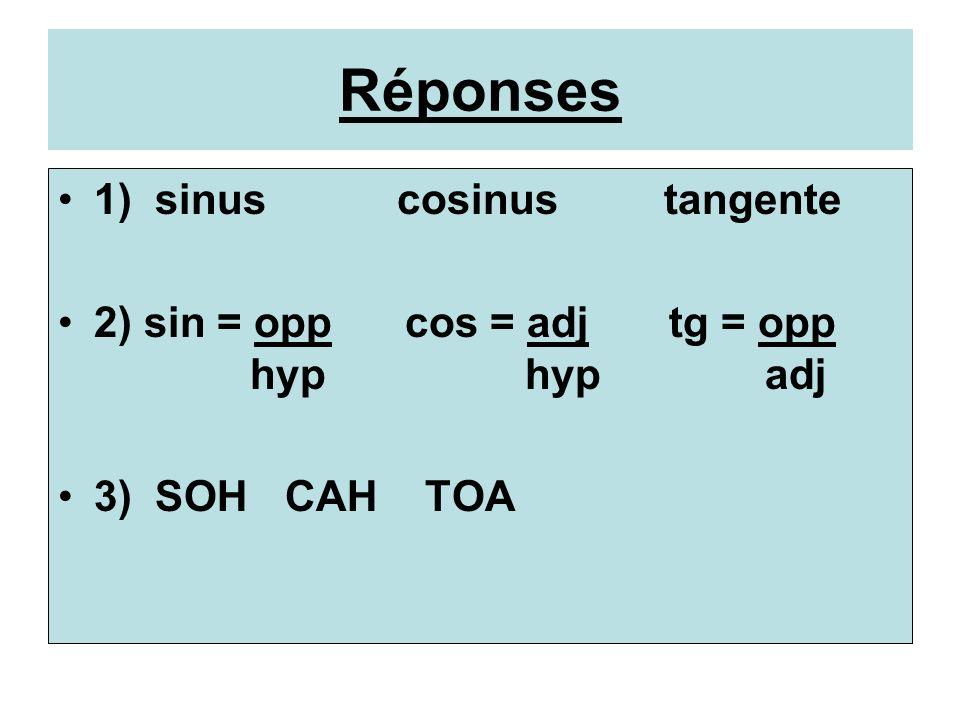 Révision- La trigonométrie 7 25 24 D L R Trouve: sin R, cos R, et tg R.