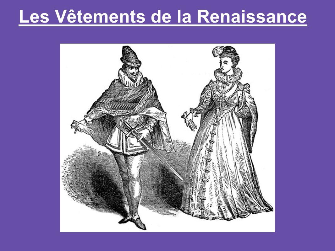 Les Vêtements de la Renaissance