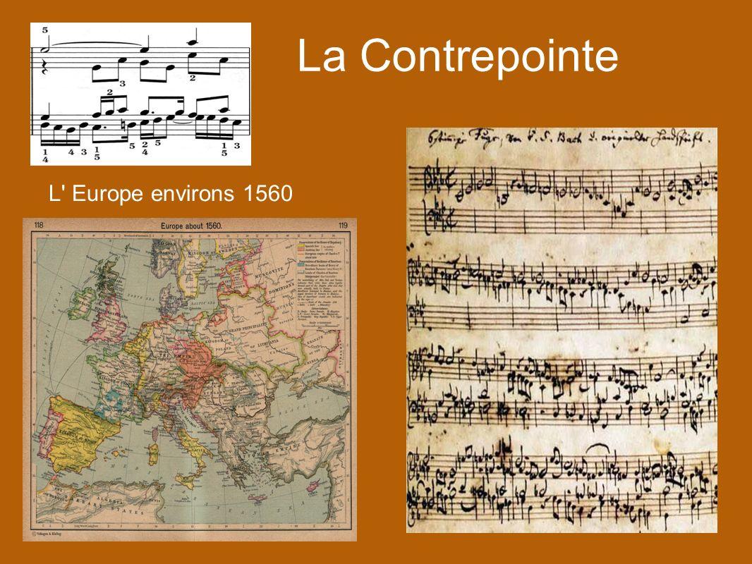 La Contrepointe L' Europe environs 1560