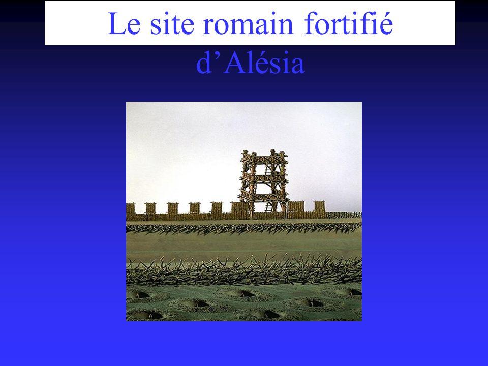 Le site romain fortifié dAlésia