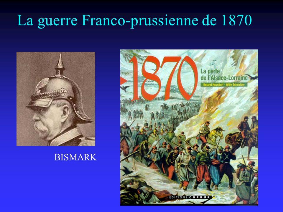 La guerre Franco-prussienne de 1870 BISMARK