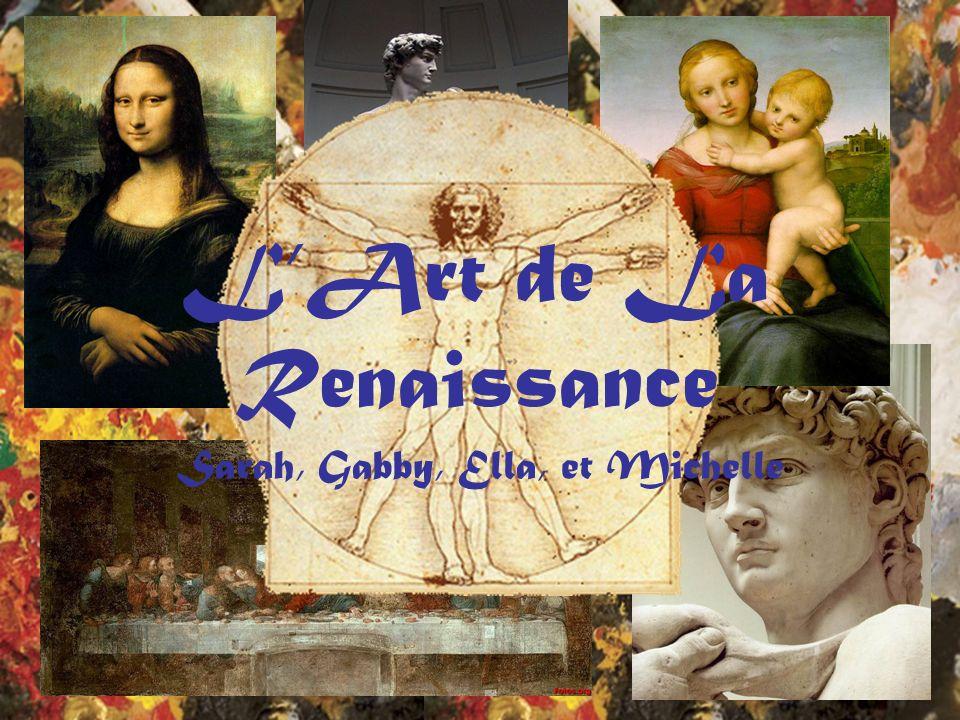 LArt de La Renaissance Sarah, Gabby, Ella, et Michelle
