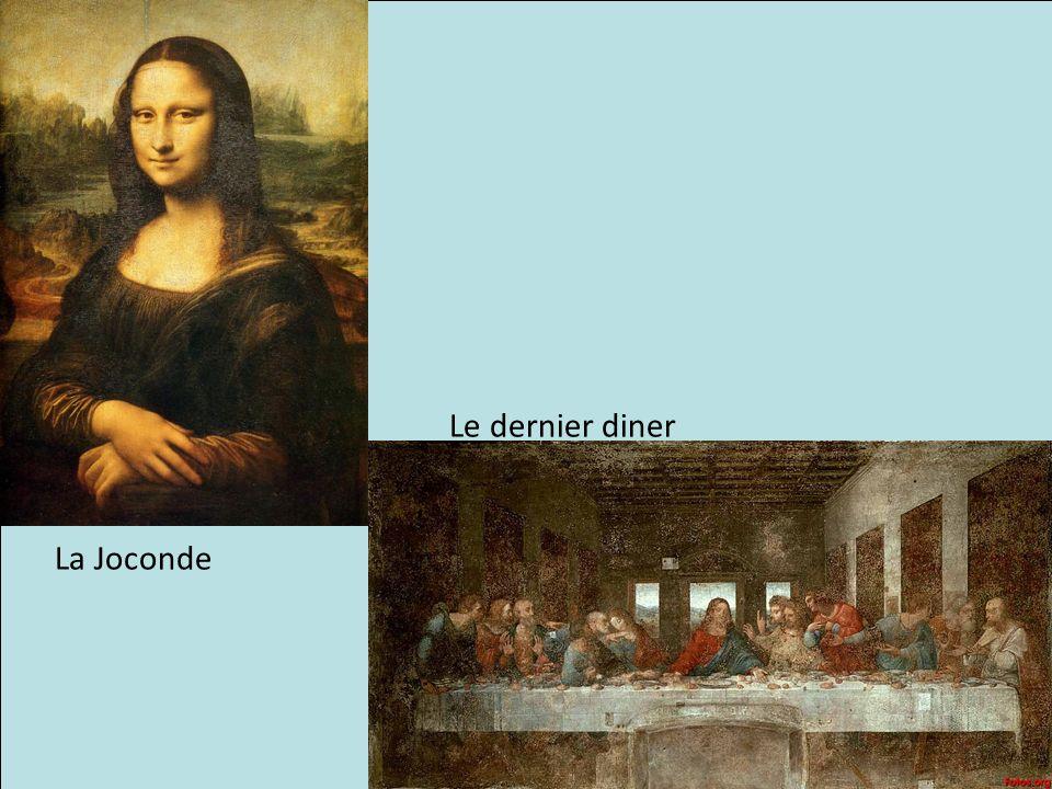 Le dernier diner La Joconde