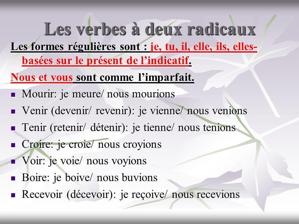 Le vocabulaire: lémotion Etre --- Agacé (e) =annoyed bouleversé (e) =very upset enchanté(e) énervé(e) =irritated ennuyé(e)= annoyed embarrassé(e) étonné (e)= very surprised choqué (e)= shocked content(e) déçu(e)= disappointed désolé (e)= sorry fâché(e)= angry fier (fière)= proud Je suis surpris quil nait pas réussi Pas de changement de sujet: Je suis surpris de navoir pas réussi.