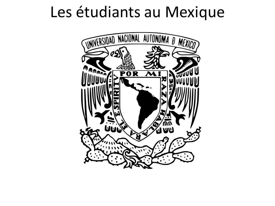 Les étudiants au Mexique