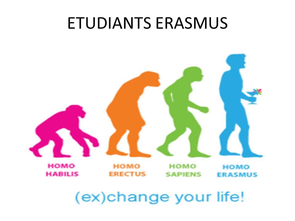 ETUDIANTS ERASMUS