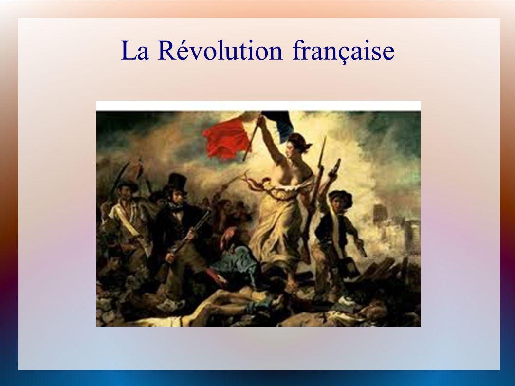 La Révolution Fran ç ais au d é but Il commençait avec Louis XVI et Marie Antoinette Ils dépensait tout leur argent.