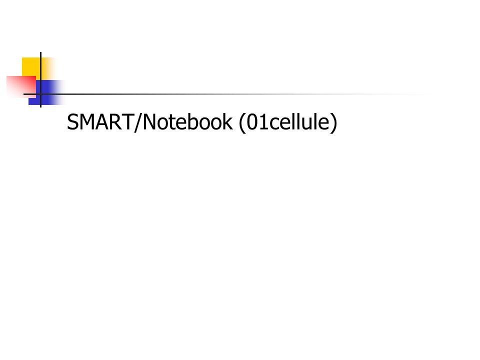 SMART/Notebook (01cellule)