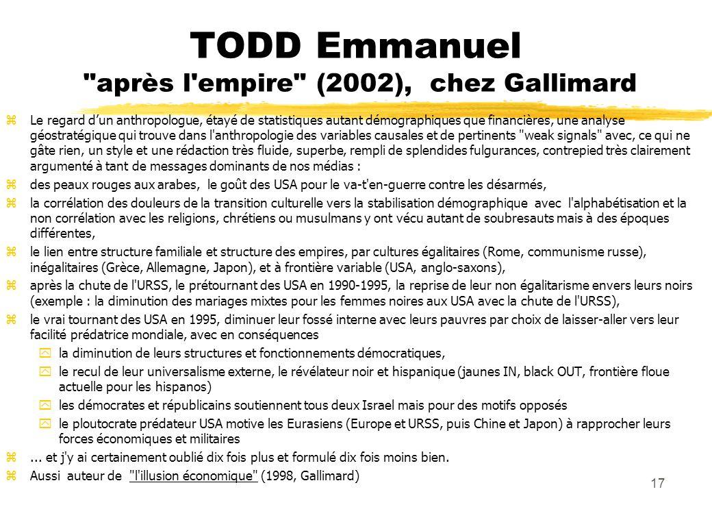 TODD Emmanuel