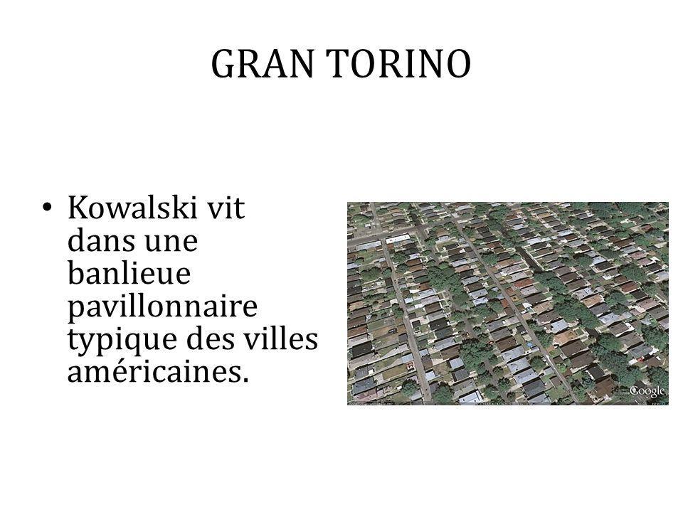 Kowalski vit dans une banlieue pavillonnaire typique des villes américaines.