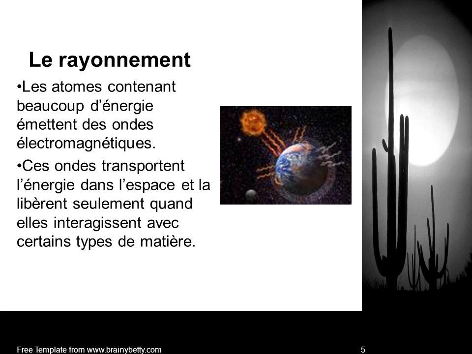 6 La constante solaire La quantité dénergie qui atteint latmosphère extérieure de la Terre est de 1367 J/m 2 s.