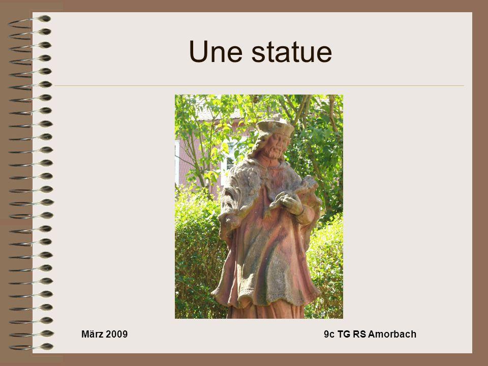 März 20099c TG RS Amorbach Une statue