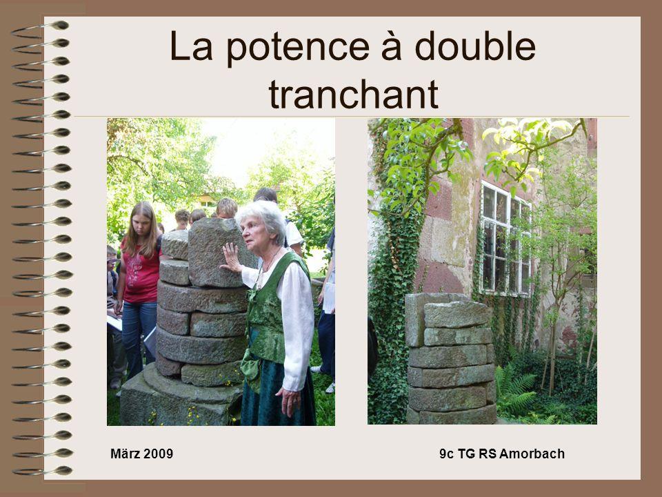 März 20099c TG RS Amorbach La potence à double tranchant