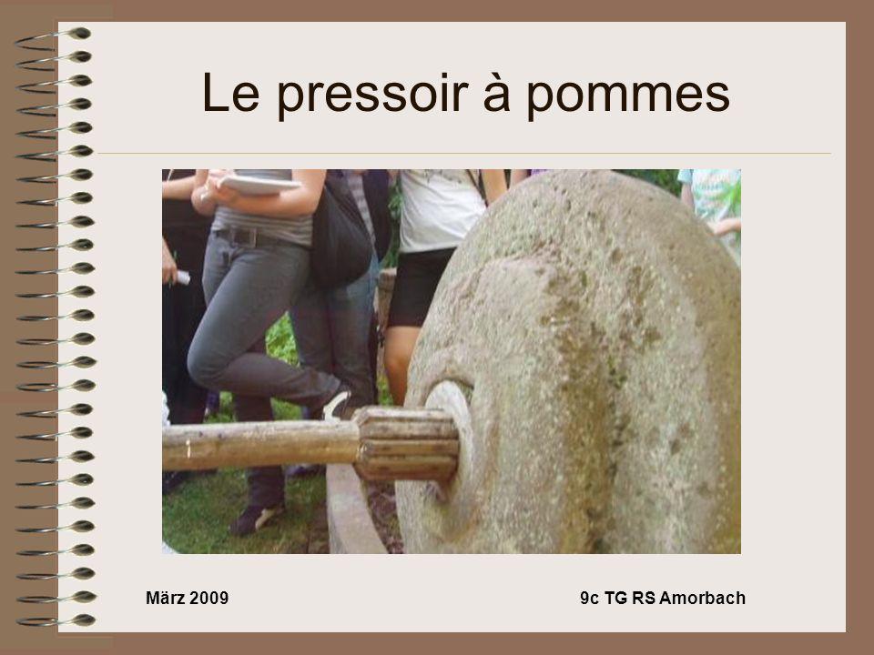 März 20099c TG RS Amorbach Le pressoir à pommes