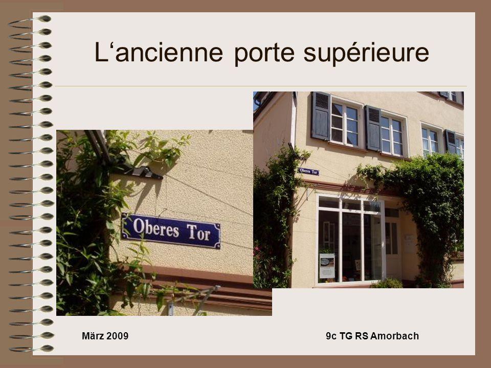 März 20099c TG RS Amorbach Lancienne porte supérieure