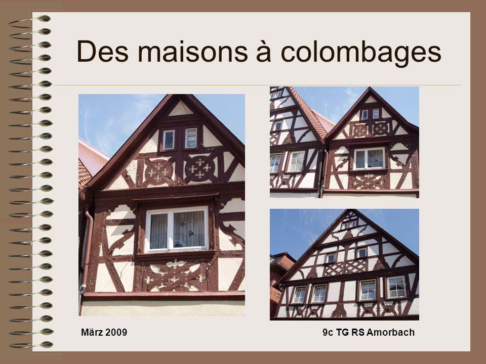 März 20099c TG RS Amorbach Des maisons à colombages