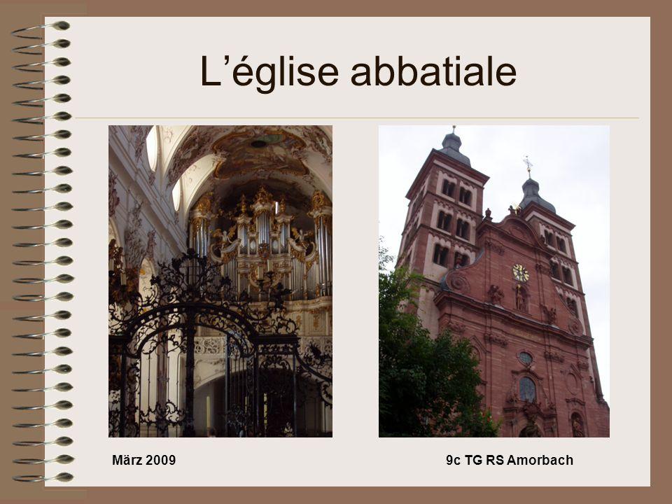 März 20099c TG RS Amorbach Léglise abbatiale