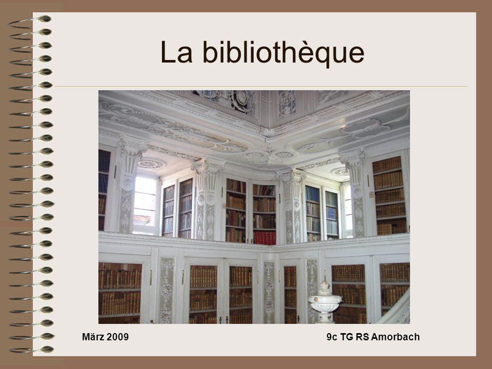 März 20099c TG RS Amorbach La bibliothèque