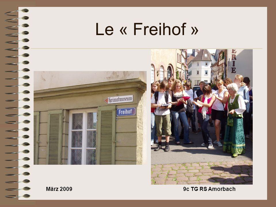 März 20099c TG RS Amorbach Le « Freihof »