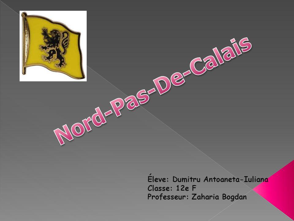 Le Nord-Pas-de-Calais est une région administrative français e.