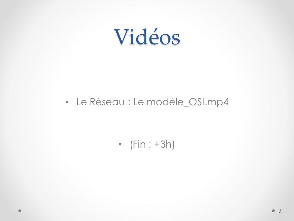 Vidéos Le Réseau : Le modèle_OSI.mp4 (Fin : +3h) 13