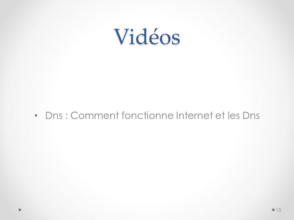 Vidéos Dns : Comment fonctionne Internet et les Dns 15
