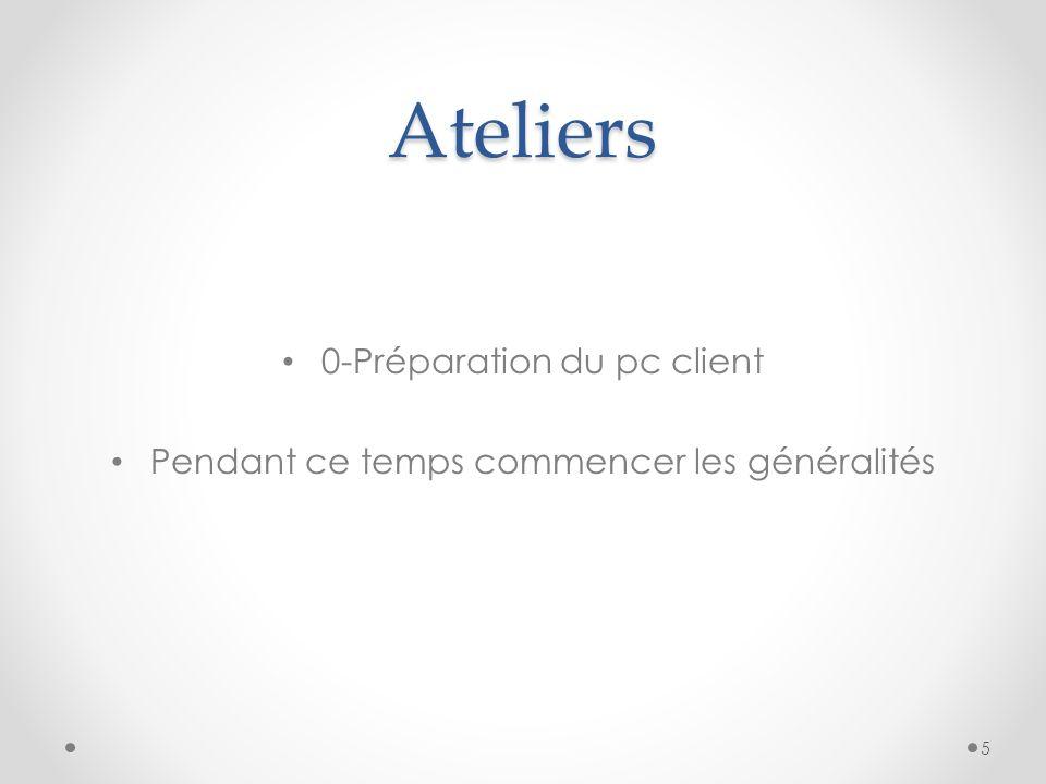 Ateliers 4 - Personnalisation de Microsoft Windows 2003 16