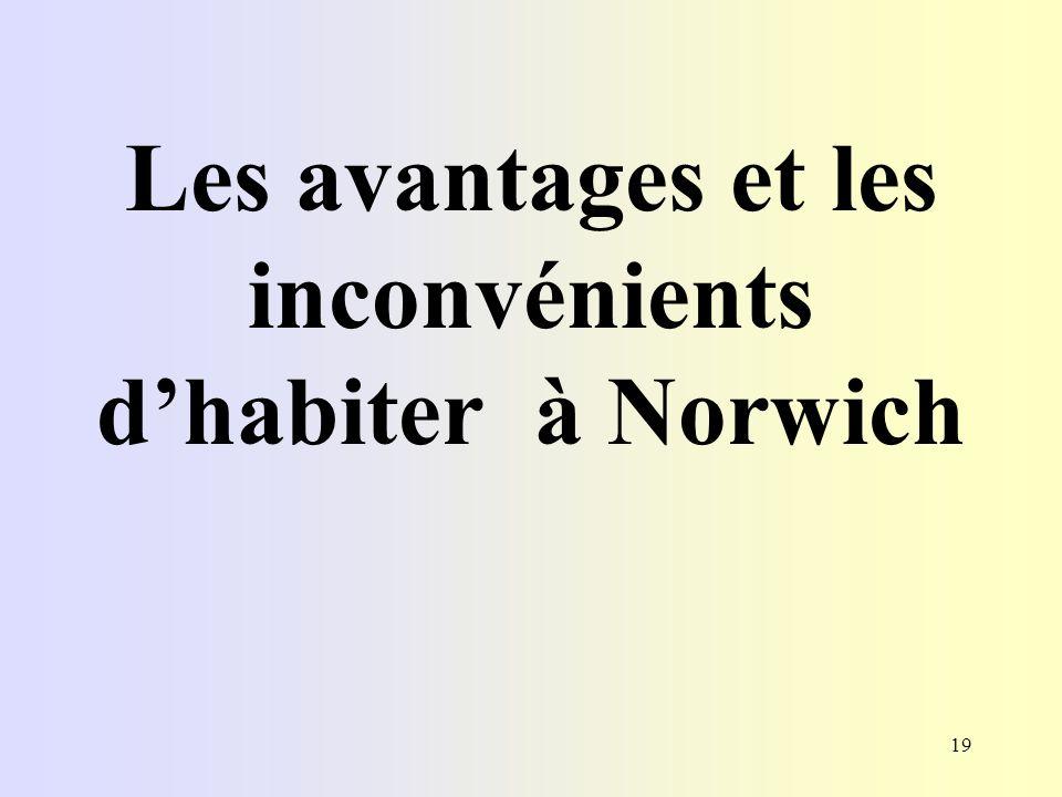 19 Les avantages et les inconvénients dhabiter à Norwich