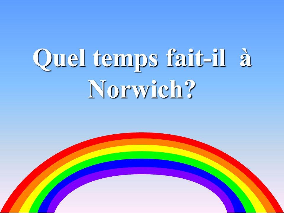 25 Quel temps fait-il à Norwich?