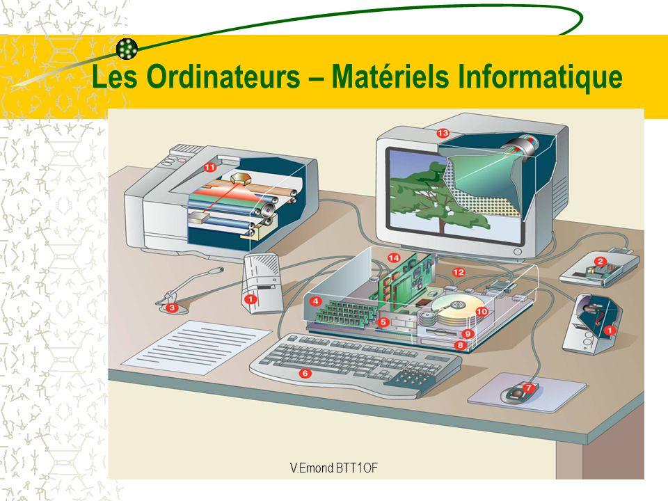 Les Ordinateurs – Matériels Informatique V.Emond BTT1OF