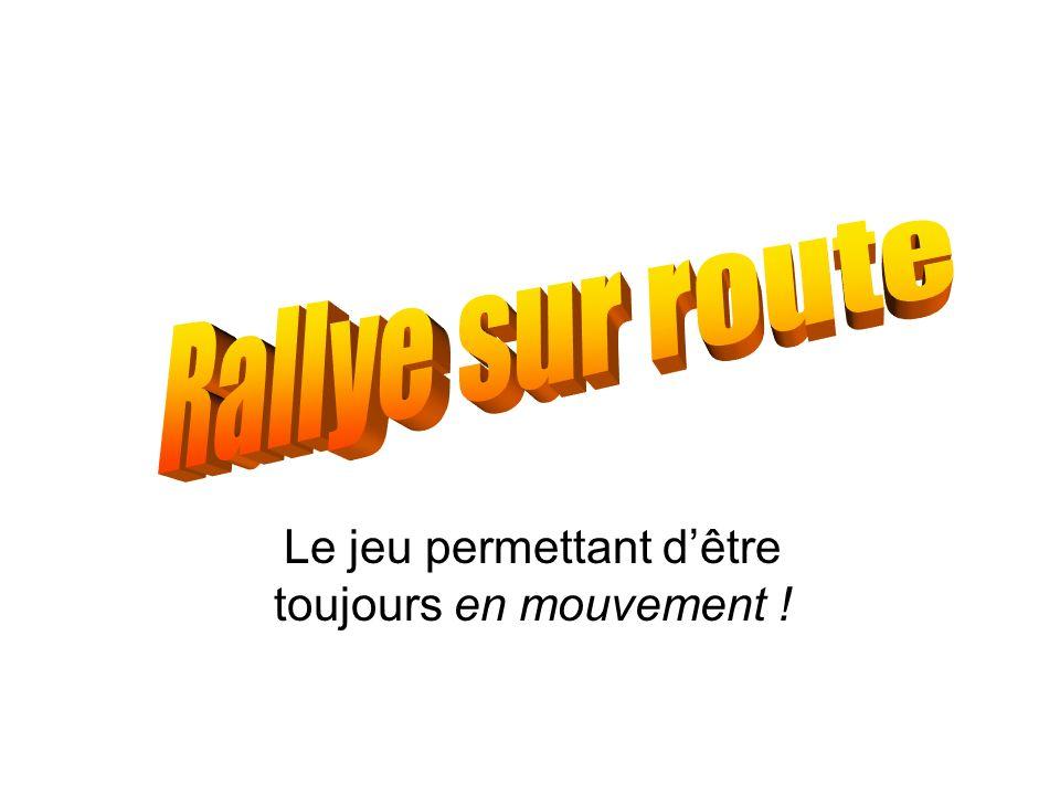 Déroulement Les rallyes se déroulent sur divers types de terrains et de routes.