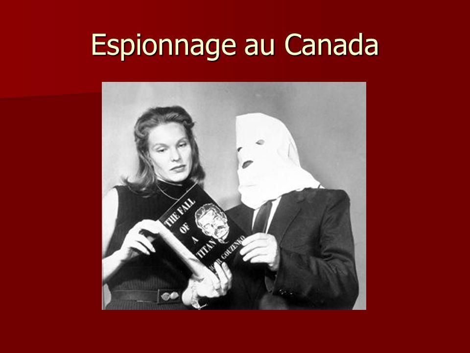 Espionnage au Canada