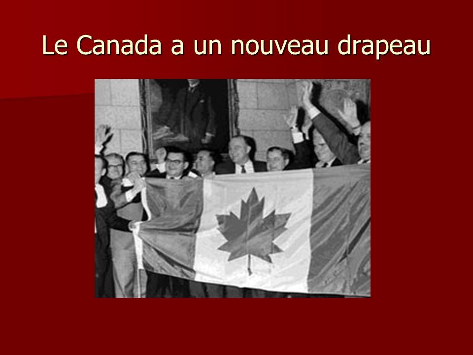 Le Canada a un nouveau drapeau
